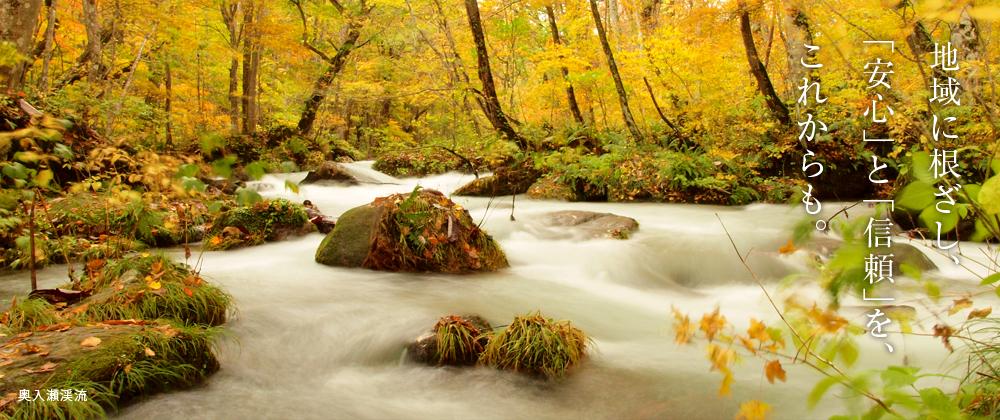 青森県十和田市十和田湖畔 奥入瀬渓流