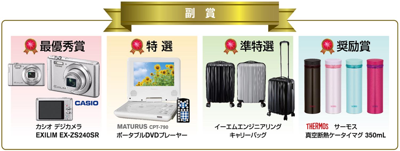 書道・交通安全ポスター コンクール 2017 副賞